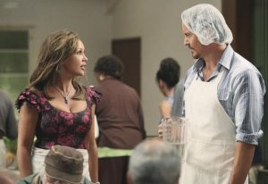 Vanessa Williams and Charles Mesure in Desperate Housewives